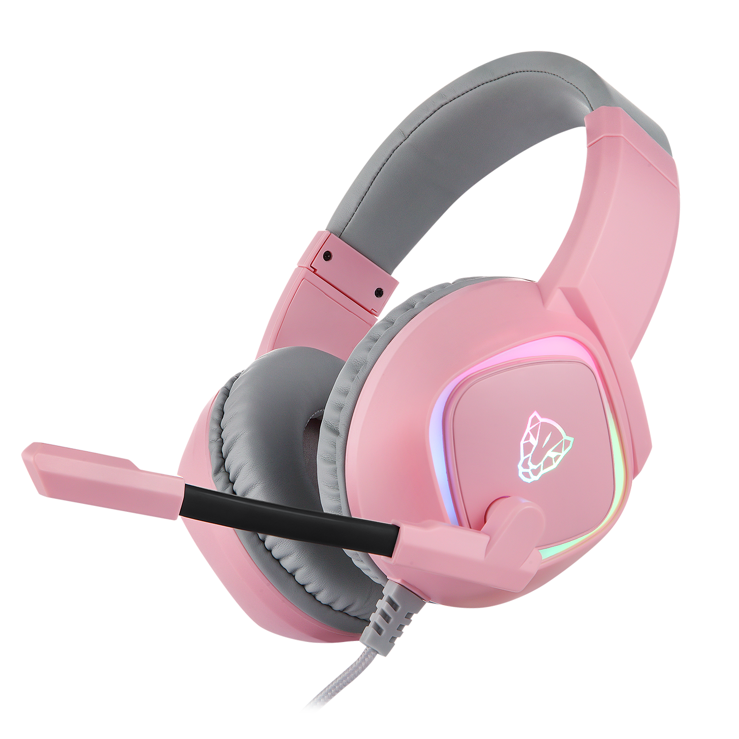 Headset Gamer Motospeed G750 Rosa RGB