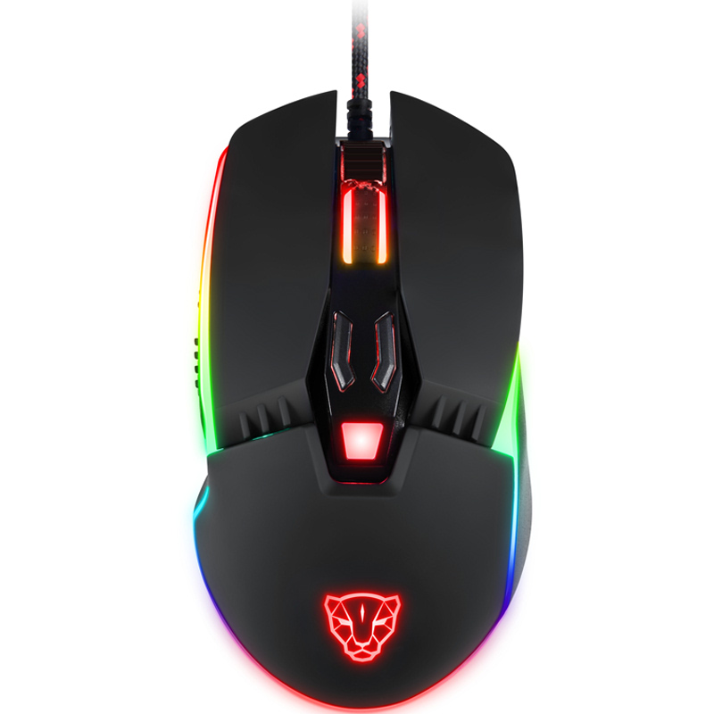Mouse Gamer Motospeed V20 RGB Com Macro